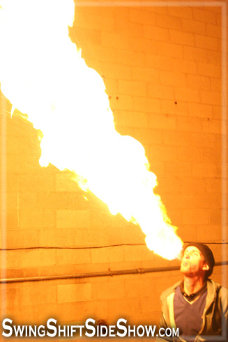 Andrew S. / fire breathing
