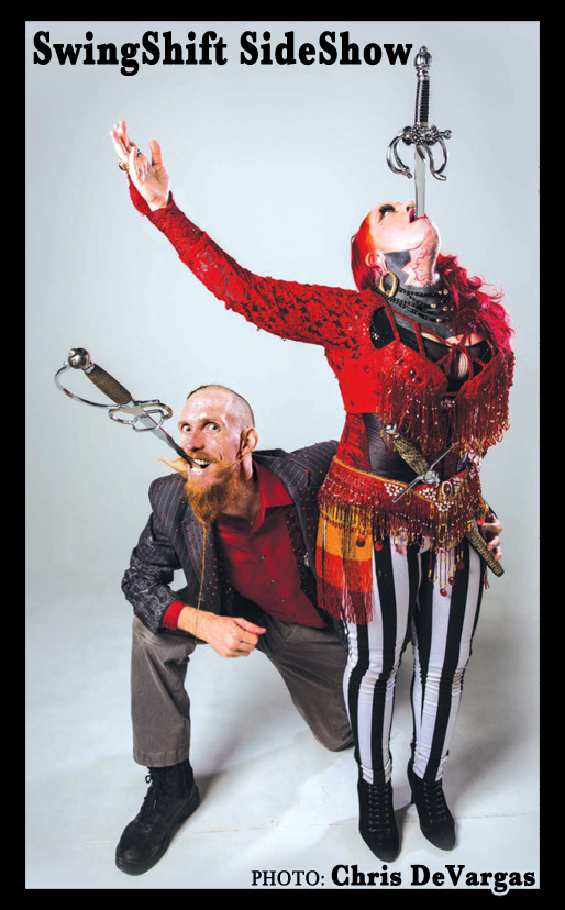 SwingShift SideShow, Andrew S. & Kelvikta the Blade