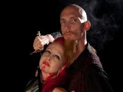 Andrew S. & Kelvikta Strange Love Photoshoot